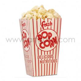 Cornets à Popcorn Rouges