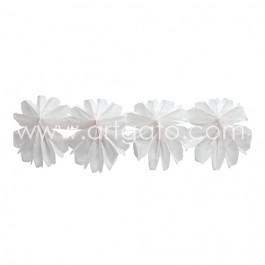 Guirlande | Rosaces Blanches