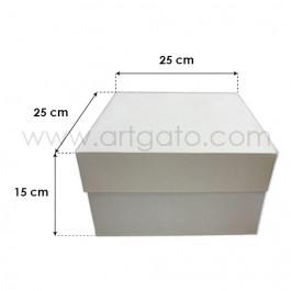 Boîtes à Gâteaux avec Couvercles - 25x25 cm