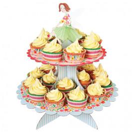 Présentoir à Cupcakes 2 Etages