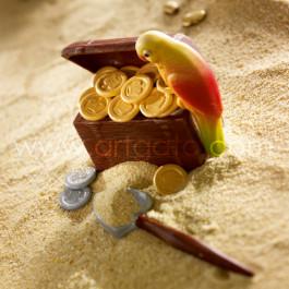 Moule à Chocolat, Perroquets 3D