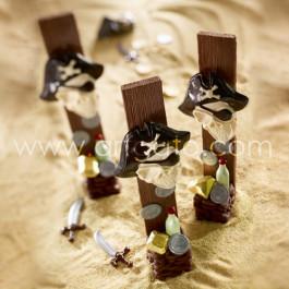 Moule à Chocolat, Têtes de Pirate