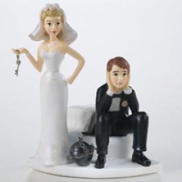 Figurines Mariage Wilton®, Mariés à Perpétuité