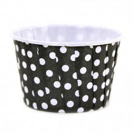 6 Caissettes Friandises (Nut Cups) | Noires à pois