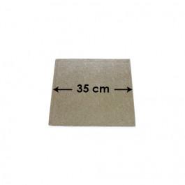 Cartons à Entremets - Argent - Carrés - 35 cm