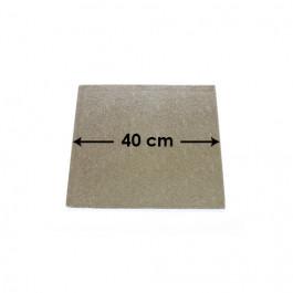 Cartons à Entremets - Argent - Carrés - 40 cm