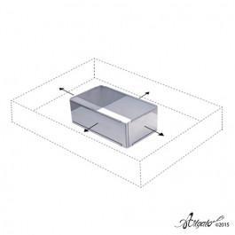 Cadre Inox Extensible De Buyer® | RECTANGLE