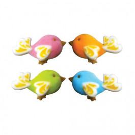 Motifs en sucre - Oiseaux Fantaisie