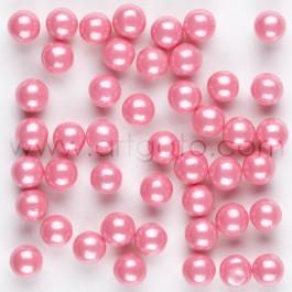 Perles de Sucre Nacrées Roses