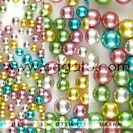 Perles en Sucre - Multicolores