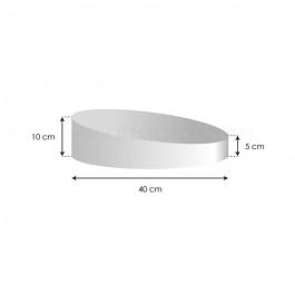 Socles Topsy Turvy - Haut. 5 à 10 cm x Ø 40 cm
