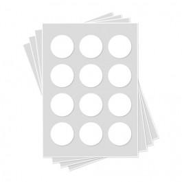 Feuilles de Glaçage | 12 Cercles de 5,4 cm de diamètre