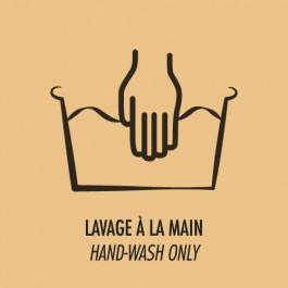 Lavage à la main uniquement