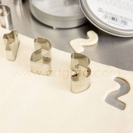 Découpoirs, Chiffres - Hauteur 35 mm