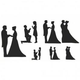 Découpoir Embosseur - Mariage