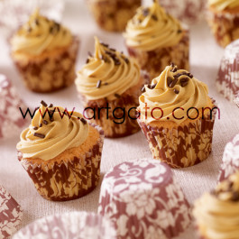 Mini Muffins au Marron