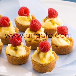 Mini Cupcakes Framboise