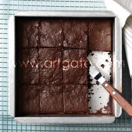 Moules à gâteau - carrés - Brownie