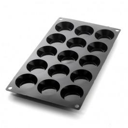 Moule Silicone Moul'flex® | 15 Mini TARTELETTES