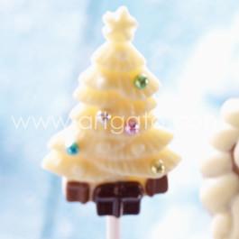 Sucette Chocolat Sapin de Noël