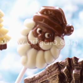 Sucette Chocolat Père Noël