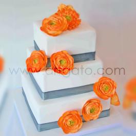 Moules à gâteau - carrés - Réalisation