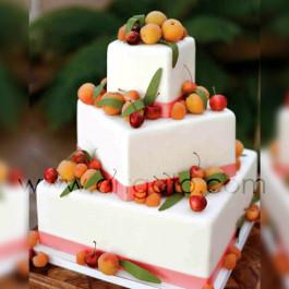 Moules à gâteau - carrés - Pièce montée