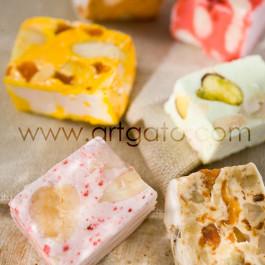 Moules à gâteau - carrés - nougats