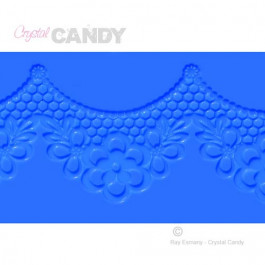 Tapis en Silicone Dentelles Crystal Candy® - Ariel
