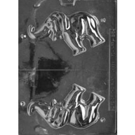 Moule à Chocolat, Eléphant 3D