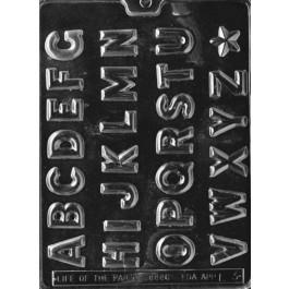 Moule à Chocolat, Alphabet