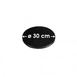 Cartons à entremets - Noir - Ronds 30 cm