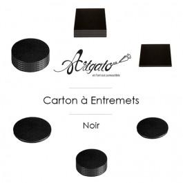 Cartons à entremets - Noir