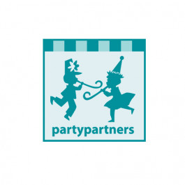 Pompons   Blanc - Party Partners