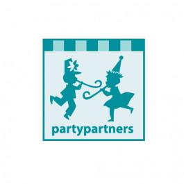 Pompons Nid d'Abeille, Bleu Party Partners