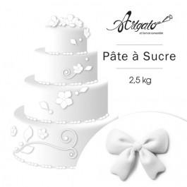 PATE A SUCRE   Blanche - 2,5 Kg