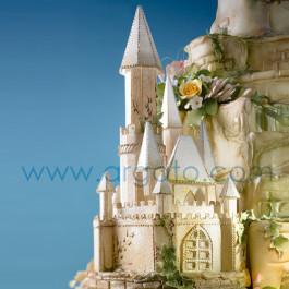 Réalisation avec le Château de La Belle au Bois Dormant en Polystyrène