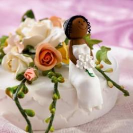 Mariée ou Demoiselle d'Honneur Afro-américaine