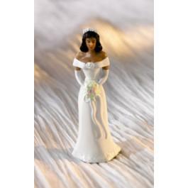 Mariée ou Demoiselle d'Honneur Afro-américaine, jeu de 2