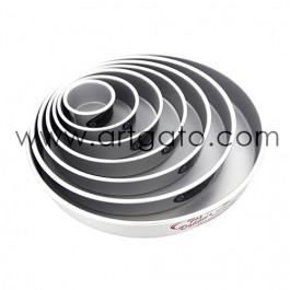 Moules à gâteaux ronds - Lot - Profondeur 5 cm