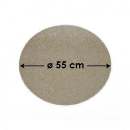 Cartons à Entremets - Argent - Ronds - 55 cm