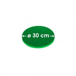 Cartons à entremets - Vert Sombre - Ronds 30 cm