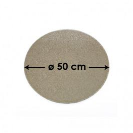 Cartons à Entremets - Argent - Ronds - 50 cm