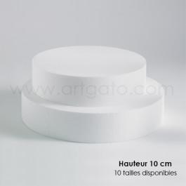 Socles Ronds 10 cm Hauteur