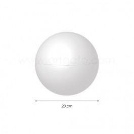 Sphère creuse en Polystyrène 20 cm diamètre - Artgato