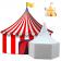 Décor Polystyrène - Chapiteau de Cirque / Tente de Chevalier