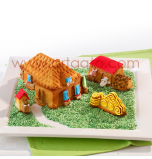 Silicone Mould | 3D Farm – 4,5 - 17 cm