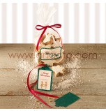 Cellophane Bag with Ribbons & Labels | 6 Cellophane bag - 23,5 x 14.5 cm