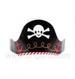 6 Pirates Party Hats