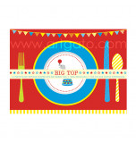Circus Birthday Party | 12 Placemats - 37,5 x 25 cm